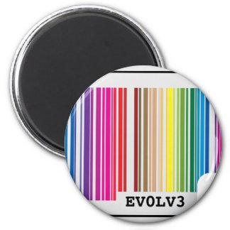 evolve barcode magnet