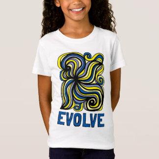 """""""Evolve"""" Girls' Fine Jersey T-Shirt"""