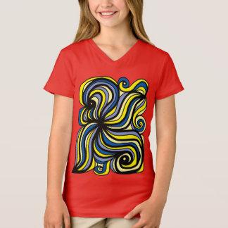 """""""Evolve"""" Girls' V-Neck T-Shirt"""