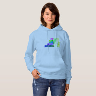 EVOLVE TO NONVIOLENCE HOODED SWEATSHIRT