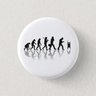 Evolved Humanist 1 Inch Round Button