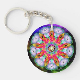 Evolving Beingness/Acts of Kindness Keychain