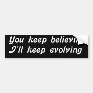 Evolving Bumper Sticker