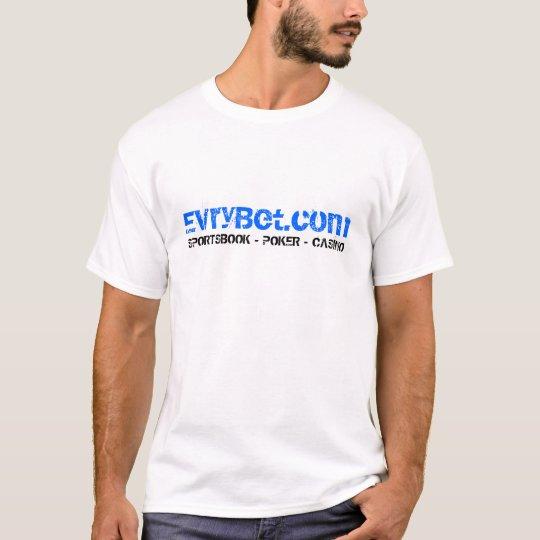 EvryBet White T-Shirt