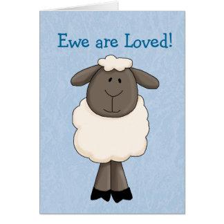 Ewe are Loved Card