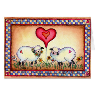 EWE ARE SEW SPECIAL by SHARON SHARPE Card