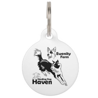 Ewenity Farm Dog Tag Pet Nametag