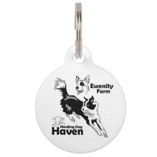 Ewenity Farm Dog Tag Pet Nametag