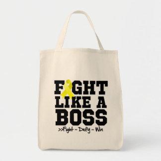 Ewing Sarcoma Fight Like a Boss Tote Bag