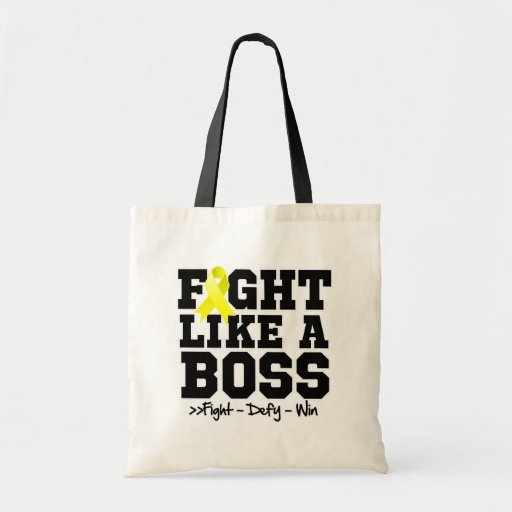 Ewing Sarcoma Fight Like a Boss Bags