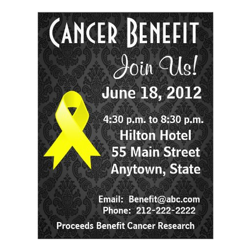 Ewing Sarcoma Personalized Benefit Flyer