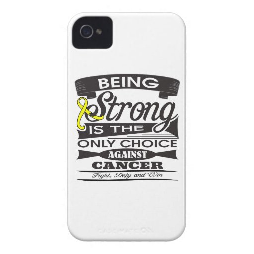 Ewing Sarcoma Strong is The Only Choice iPhone4 Case