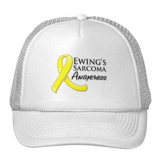 Ewing's Sarcoma Awareness Ribbon Trucker Hats