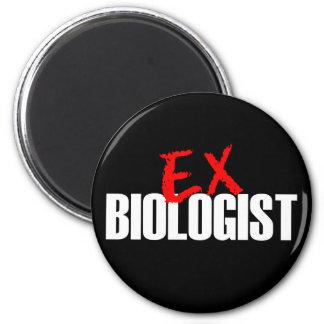 EX BIOLOGIST DARK 2 INCH ROUND MAGNET