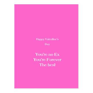 Ex lover valentine's day postcard
