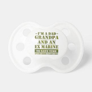 Ex Marine Pacifier