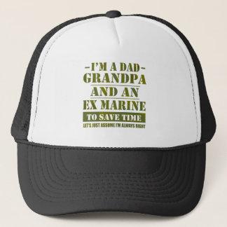 Ex Marine Trucker Hat