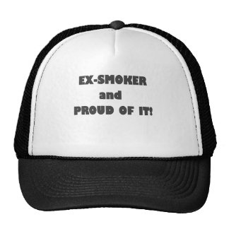 EX SMOKER AND PROUD OF IT.png Trucker Hat