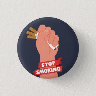 ex smoker quit smoking 1 inch round button