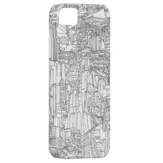 Ex USSR buildings iPhone 5 Covers