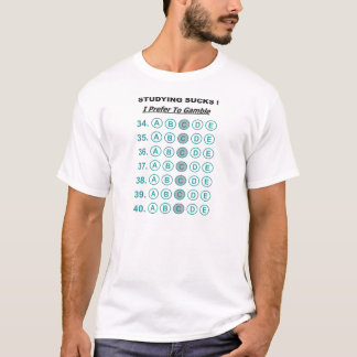 Exam Study Full T-Shirt