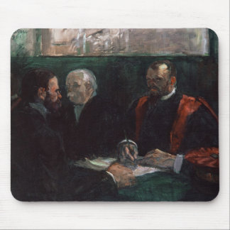 Examination at the Faculty of Medicine 1901 Mousepads