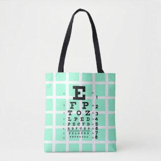 Examinez vos yeux : Rétro diagramme d'oeil et Tote Bag