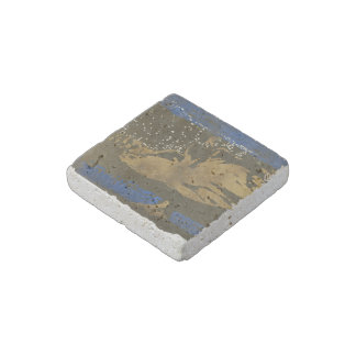 """Example"" Natural Stone Magnet"