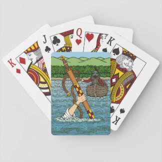 Excalibur and Arthur Playing Cards