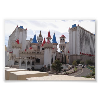 Excalibur Hotel & Casino Photo Print