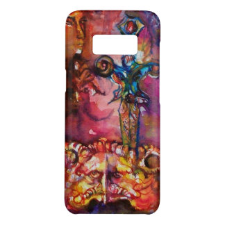 EXCALIBUR /MAGIC SWORD Fuchsia Red Yellow Fantasy Case-Mate Samsung Galaxy S8 Case