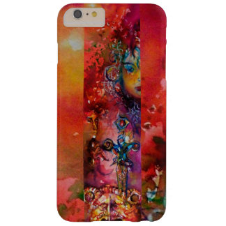 EXCALIBUR /QUEEN OF MAGIC SWORD Red Yellow Fantasy Barely There iPhone 6 Plus Case