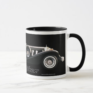 Excalibur Series IV Black Phaeton ringer Mug