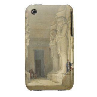 """Excavated Temple of Gysha, Nubia, from """"Egypt and Case-Mate iPhone 3 Case"""