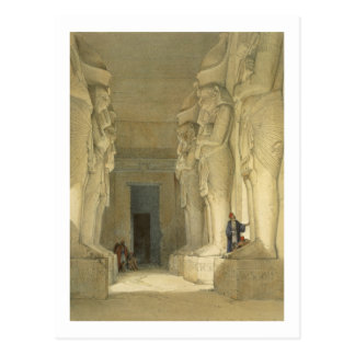 """Excavated Temple of Gysha, Nubia, from """"Egypt and Postcard"""