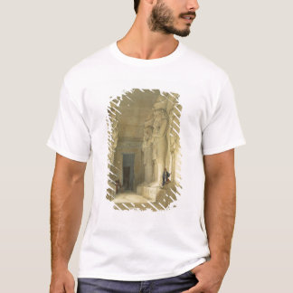 """Excavated Temple of Gysha, Nubia, from """"Egypt and T-Shirt"""