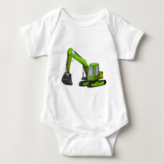 Excavator Baby Bodysuit