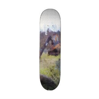 excavator photo texture skateboard deck