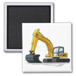 Excavator Square Magnet
