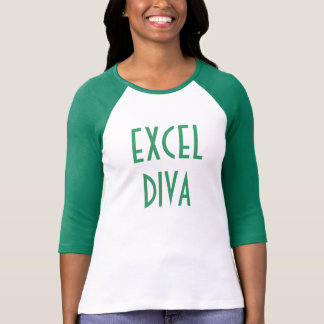 """Excel Diva"" t-shirt"
