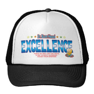 Excellence Dr Bum Head Mesh Hat