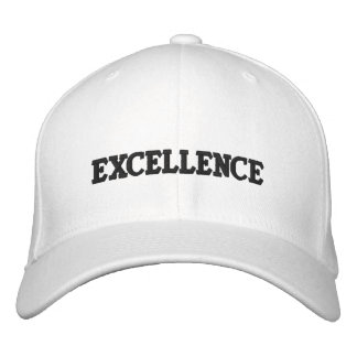 EXCELLENCE EMBROIDERED HAT