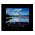 Excellence Inspirational Poster