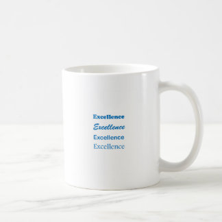 EXCELLENCE Standard Coach Mentor Sports School GIF Coffee Mug