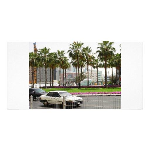 excellent dubai landscape photo card