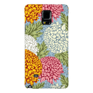 Excellent pattern with chrysanthemums
