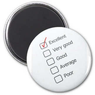 Excellent Report Card Magnet