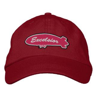 Excelsior Crewcap Embroidered Hat