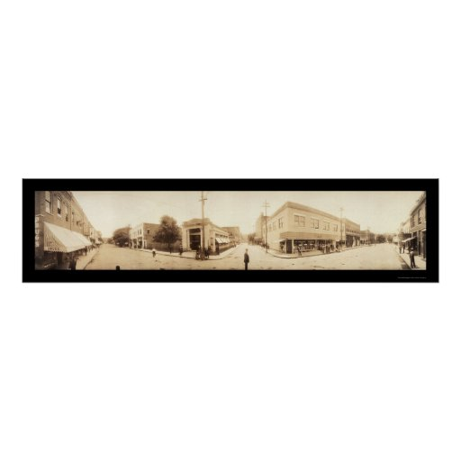 Excelsior Springs, MO Photo 1909 Poster