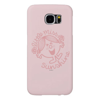 Excitable Little Miss Sunshine Samsung Galaxy S6 Cases